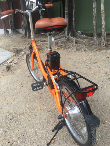 Bike elétrica Riu south novinha - Foto 6