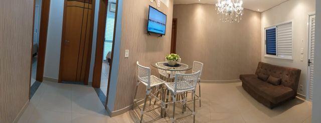 Apartamento mobiliado para temporada NOVINHO em Cuiabá bem localizado - Foto 6