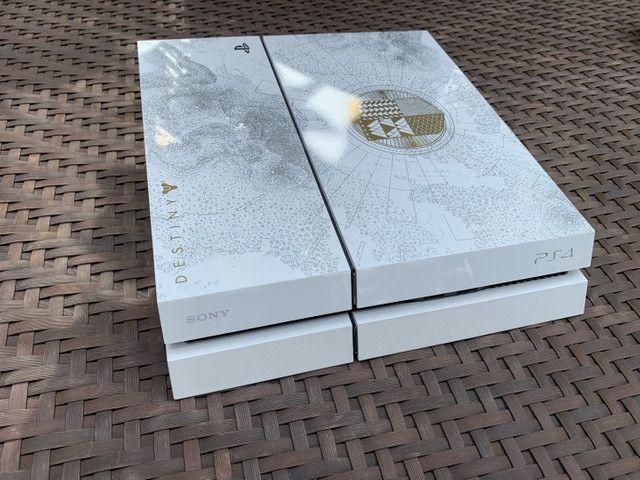 Ps4 branco edição especial Destiny + 5 jogos + Playstation Camera - Foto 4