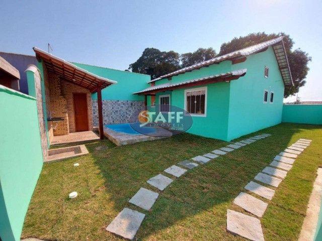 K- Casas lindas com 2 quartos, sendo 1 suíte, no Gravatá em Unamar - Foto 13