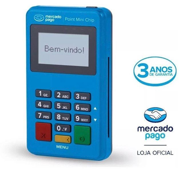 Máquina cartão mercado pago Point Mini chip - Foto 2