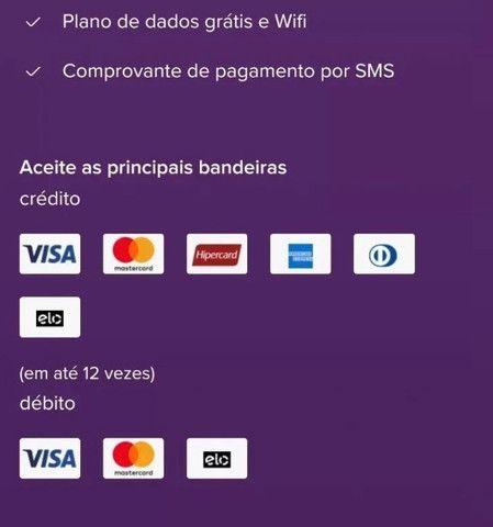 Máquina cartão mercado pago Point Mini chip - Foto 3