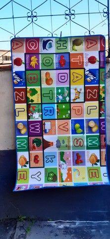 Tapete infantil- medidas:  1.80 x 1.00- grátis  bolsa - Foto 4