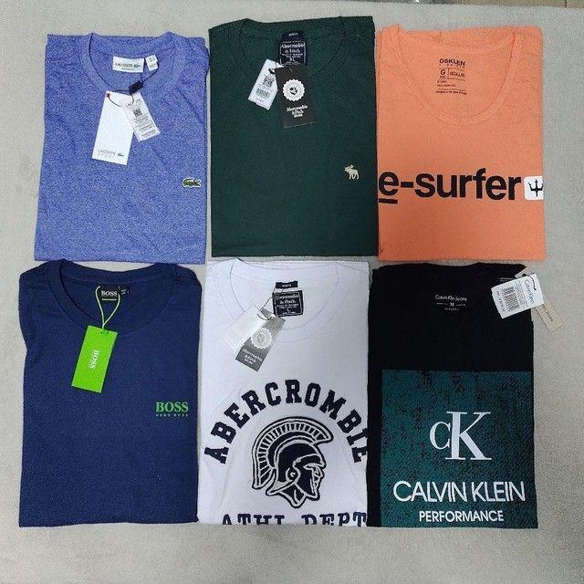 Camisetas masculinas R$ 49,99. Qualquer peça. - Foto 4