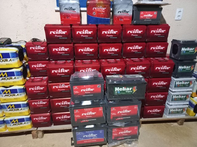baterias a base de troca novas com garantia  - Foto 5