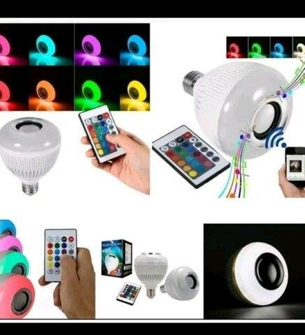 Lâmpada Bluetooth Led RGB Party  - Foto 2