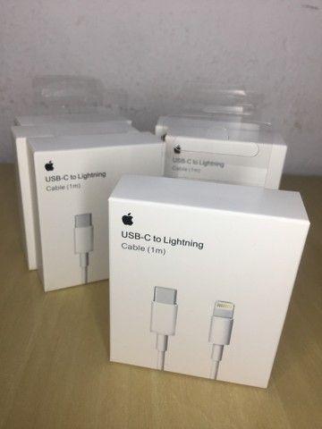 Acessórios para iPhone - Cabos, Fonte 18w, Fones Lightning - Originais com NF e Garantia - Foto 2