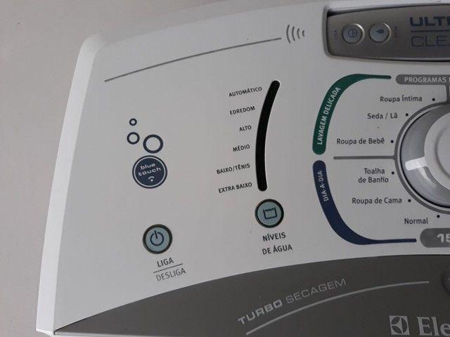 Chicote de alimentação superior e inferior de lavadora eletrolux lbu15  - Foto 3