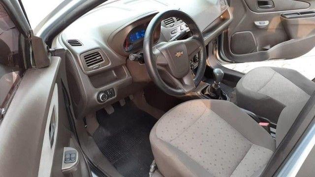04 L - Chevrolet Cobalt LS 1.4 8V Flex 2012 Completo Top Espaçoso - Foto 4