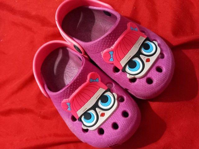 26 e 27 sapatos menina bem conservada  - Foto 3