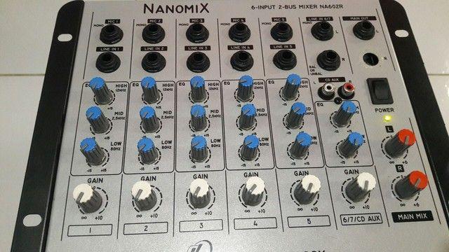 Mesa de som nanomix 7 canal 320