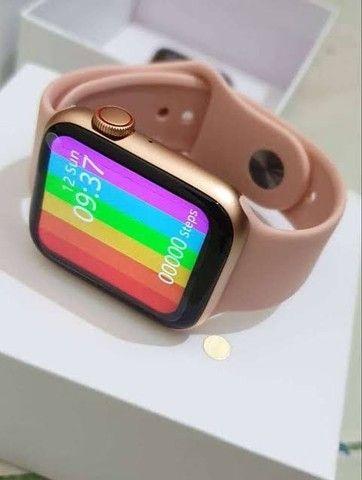 Relógio digital Smartwatch w26 IWO 12 lite 40 mm relógio que faz chamadas telefônicas - Foto 2