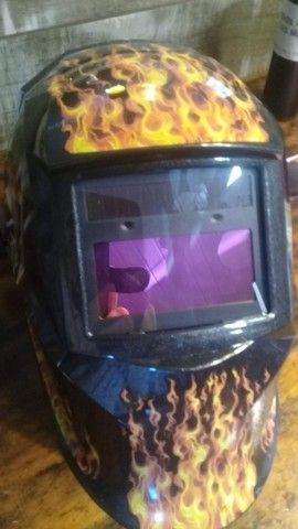 Máscara Solda Automática Personalizada (Vaqueira)