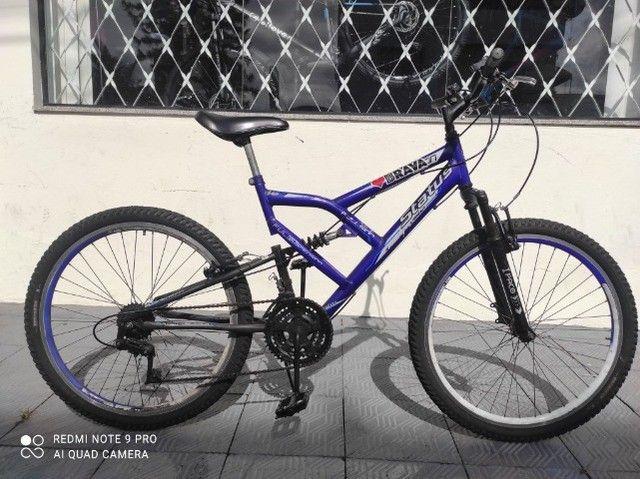 Bicicleta Status Fullsion Aro 26