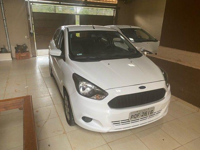 Ford ka 2015 branco