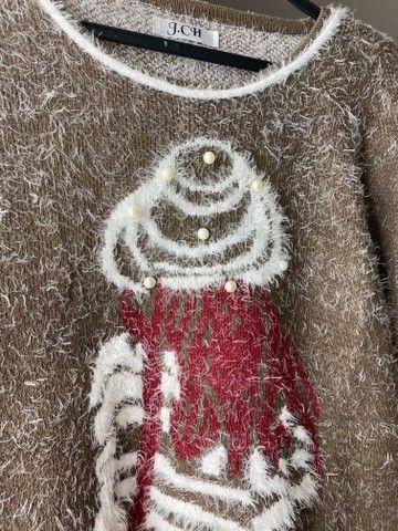 Blusas de inverno Tricot feminino - Foto 5