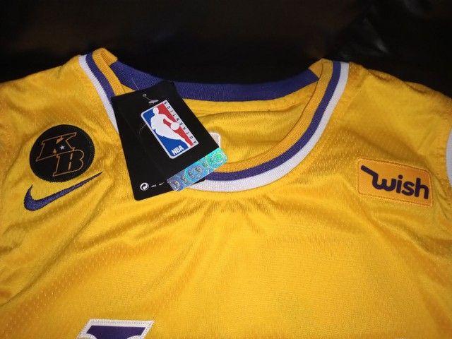 Camisa Lakers - Foto 4