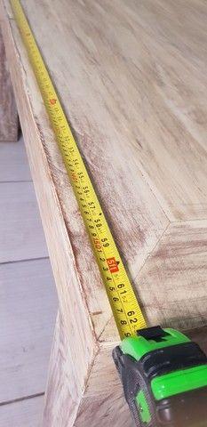 Mesa de madeira nobre maciça  - Foto 2