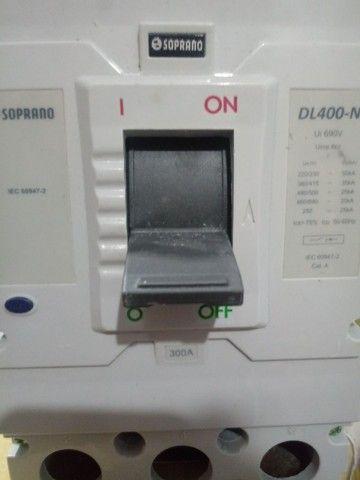 Disjuntor Caixa Moldada Iec Dl400n 300a Soprano - Foto 3