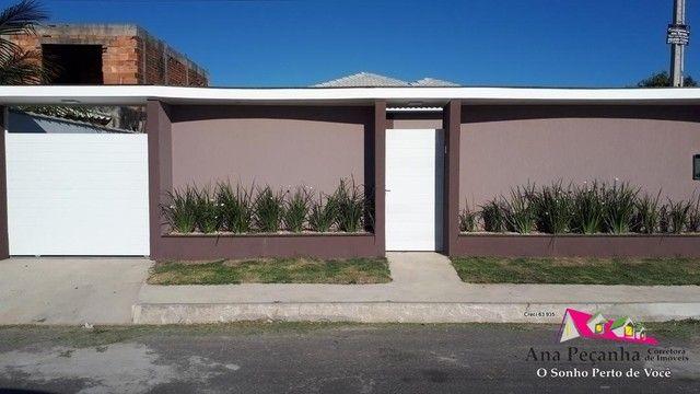 Linda Casa 3qts com Terrenão 480m - Foto 3