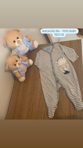 Roupinhas de bebê menino RN e P - Foto 6