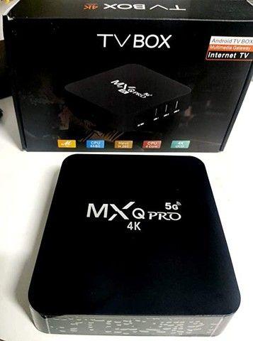 Tv box 4k - produto novo