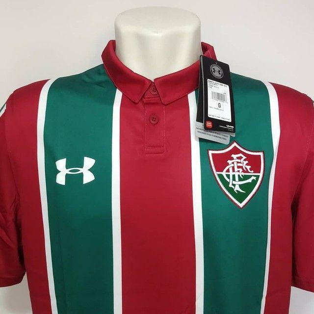 Camisa Fluminense tricolor Under Armour 2019 - Foto 2