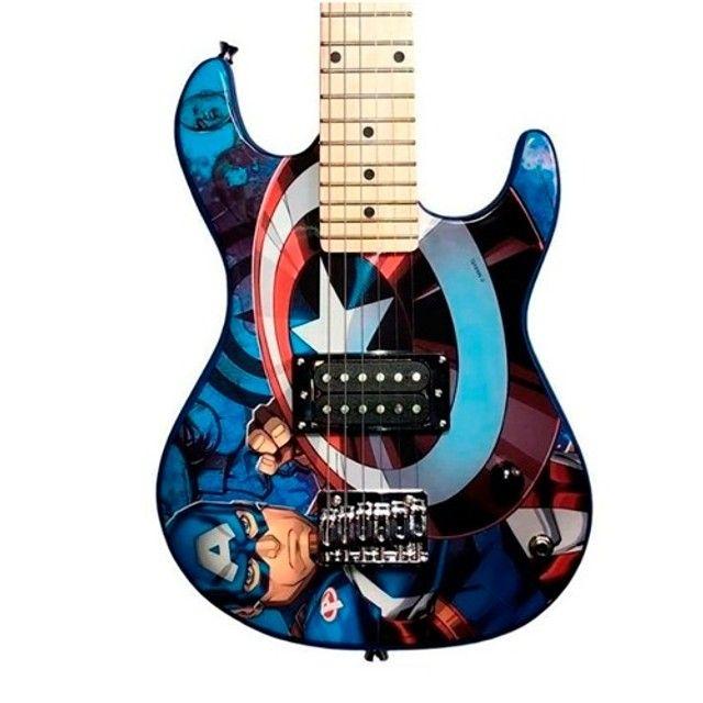 guitarra infantil marvel