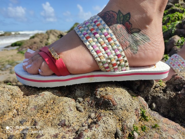 Havaianas de luxo para acabar  - Foto 5