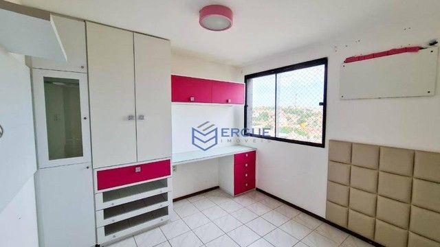 Apartamento com 3 dormitórios à venda, 93 m² por R$ 430.000,00 - Varjota - Fortaleza/CE - Foto 16