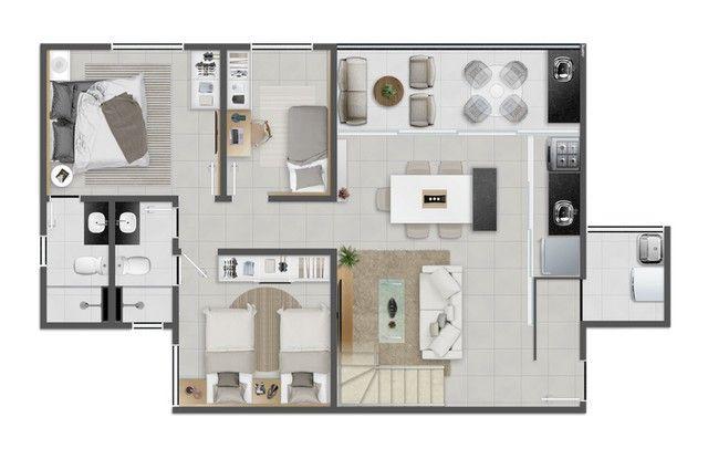 JACARANDÁ - 73m² - 3 quartos - Eusébio - CE - Foto 20