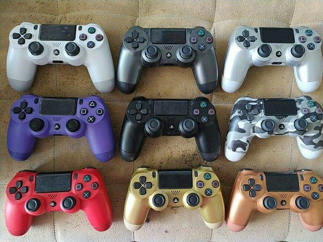 Controle PS4 cores exclusivas liquidação