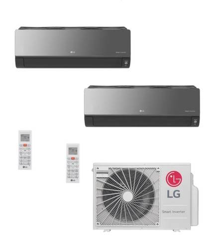 Ar Condicionado Multi-Split LG ArtCool Inverter 18.000 BTU/h