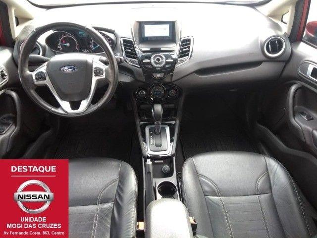 Fiesta Sedan Titanium Plus Automático 2017 - Foto 7