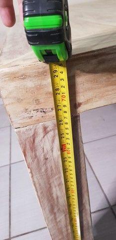 Mesa de madeira nobre maciça  - Foto 3