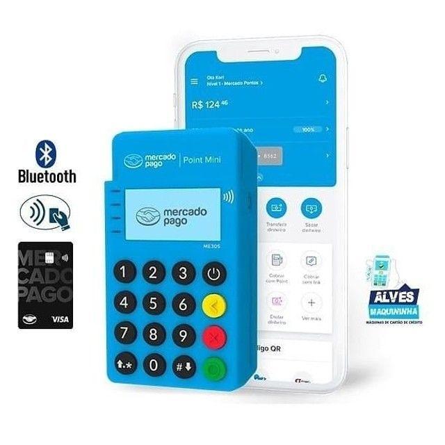 Maquiniha de cartão por aproximação NFC  - Foto 2