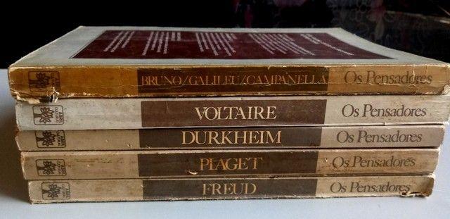 Coleção os Pensadores 1978 5 volumes - Relíquias  - Foto 4