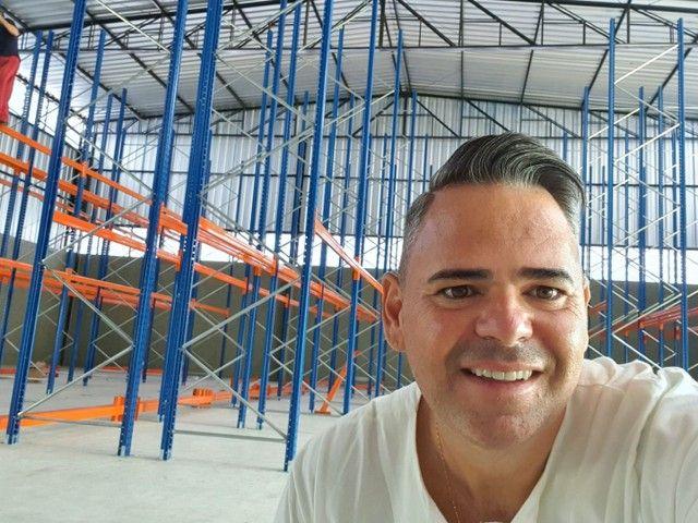 Alugo galpão industrial  750m2 com Doca / zupi 2 Santana de Parnaiba-SP km 44 Romeiros  - Foto 4