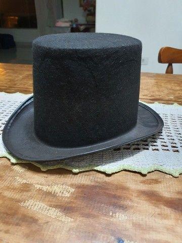 Cartola de tecido preta - Foto 3
