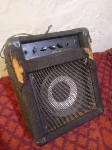 Amplificador Mackintec Black Falcon FUNCIONANDO