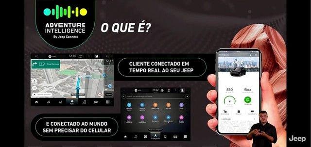 Novo Jeep Compass Sport 1.3 turbo flex 2022 SUV 185 cavalos PJ e PCD - Foto 14