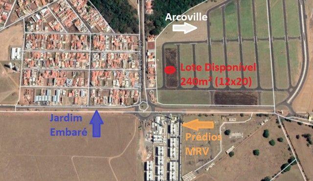 Lote/Terreno - Arcoville (Embaré) - 240m²  -  Ótima localização!!