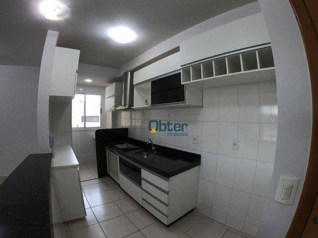 Apartamento com 3 dormitórios para alugar, 81 m² por R$ 1.550/mês - Chácaras Alto da Glóri