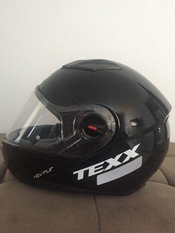 Capacete Texx New Flip - Foto 4