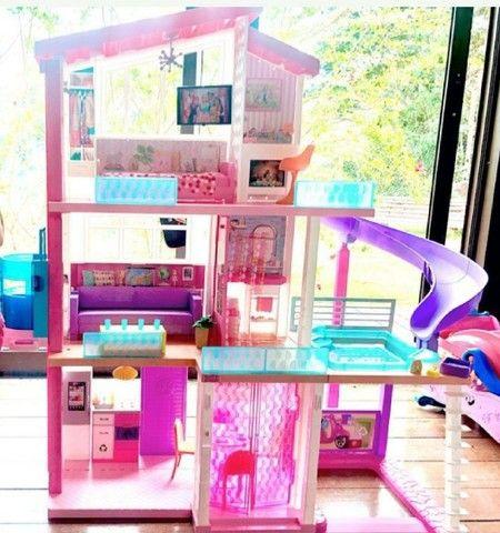 Casa dos sonhos da barbie