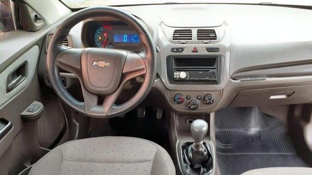 04 L - Chevrolet Cobalt LS 1.4 8V Flex 2012 Completo Top Espaçoso - Foto 5