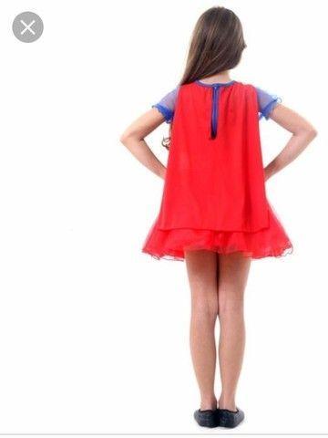 Fantasia Super Mulher ( Produto novo) - Foto 2