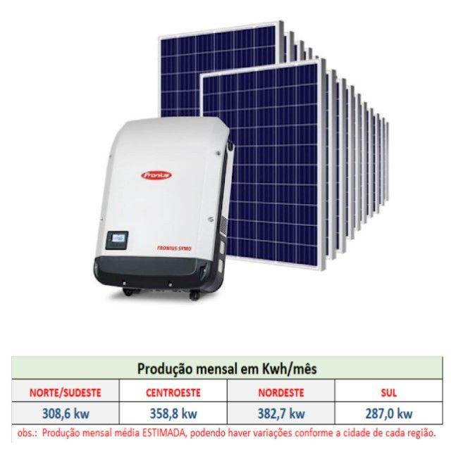 Placa / Módulo / Painel solar fotovoltaico 335w - pronta entrega! - Foto 5