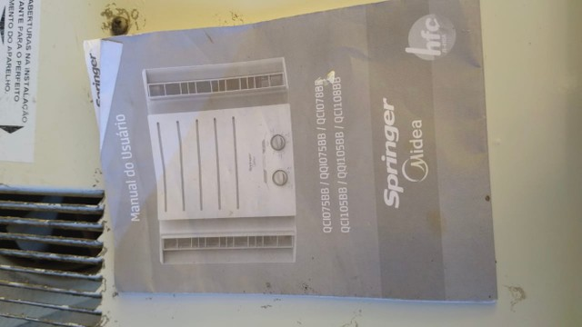 Ar condicionado Springer Midea 7500btu - Foto 4