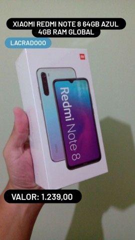 Xiaomi note 8 64GB azul , A pronta entrega!